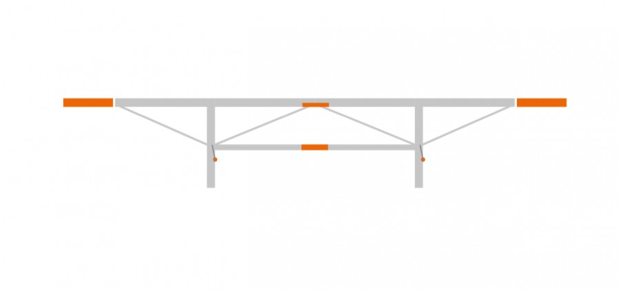 """Extension package 2 x 1'7 3/4"""", (F2, F2+)"""