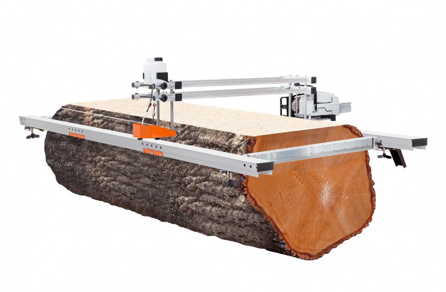 """Big Mill with guide rail package, for 66"""" (167 cm) guide bar (chain & guide bar included)"""
