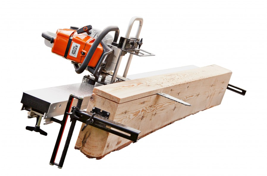 Timberjig with guide rail package