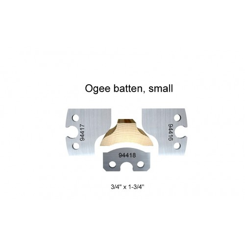 Ogee batten, small