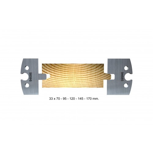 Tongue and groove 33 mm